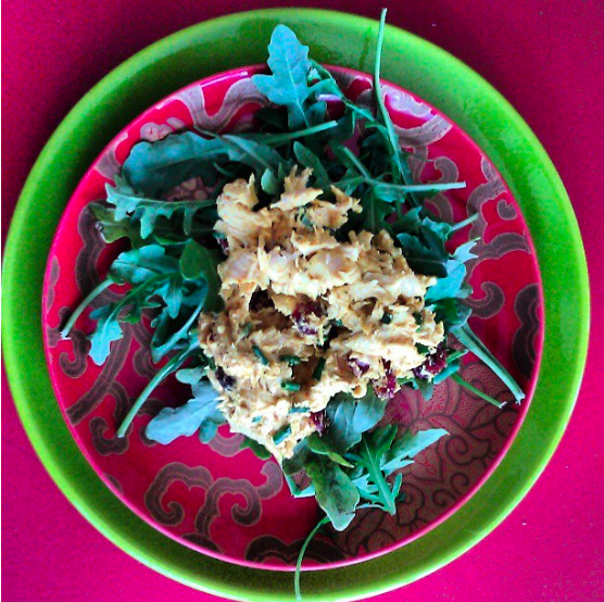 Curry Cranberry Chicken Salad